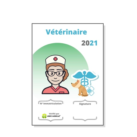 Caducée Vétérinaire