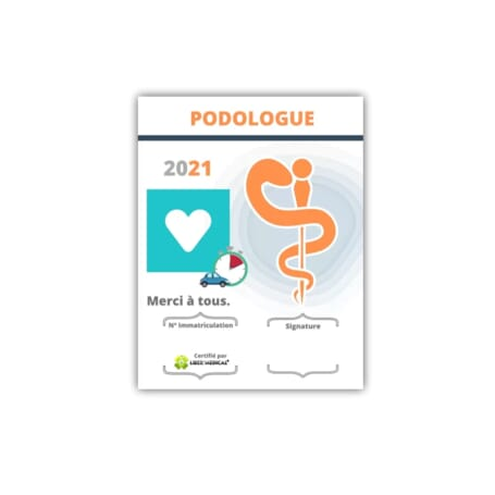 Caducée 2021 Podologue  - 4