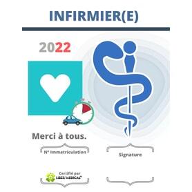 Caducée Infirmier 2022 - Infirmière libérale
