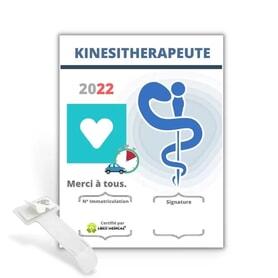 Caducée kiné - Kinésithérapeute v2 2022
