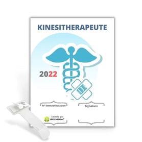 Caducée Kinésithérapeute v1 2022