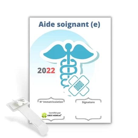 Caducée Aide soignant (e)  - 2022