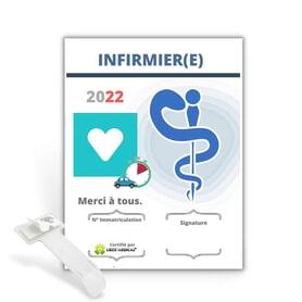 Caducée Infirmier - 2022